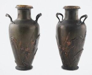 Para wazonów secesyjnych