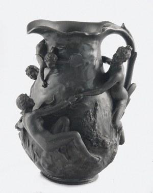 Jean GARNIER (1853-1910), Dzban secesyjny z tańczącymi nimfami