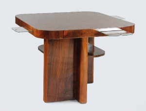Stół do gry art déco