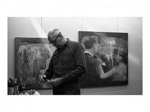 Wojciech Fangor, SoHo, Nowy Jork, 1981, 30 x 40 cm