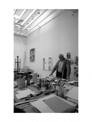 Wojciech Fangor, Summit, Nowy Jork, 15 X 1988, 40 x 30 cm