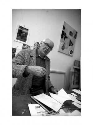Wojciech Fangor, Summit, Nowy Jork, 16 X 1988, 40 x 30 cm