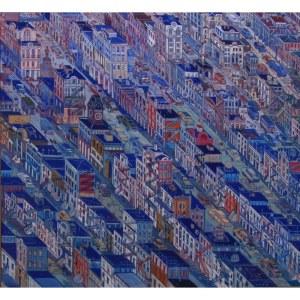 Edward Dwurnik (ur. 1943), Nowy Jork, 1997