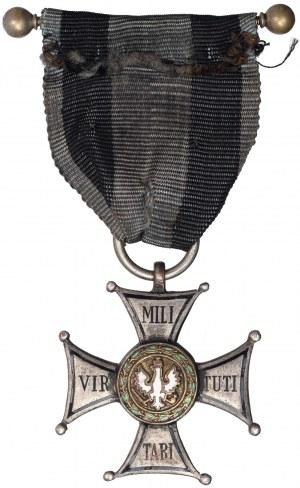 II RP, Srebrny Krzyż Orderu Virtuti Militarii Wtórnik nadaniowy zakł. Miecznika