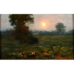 Aleksander Mroczkowski (1850 Kraków - 1927 Stubno K. Przemyśla), Pejzaż