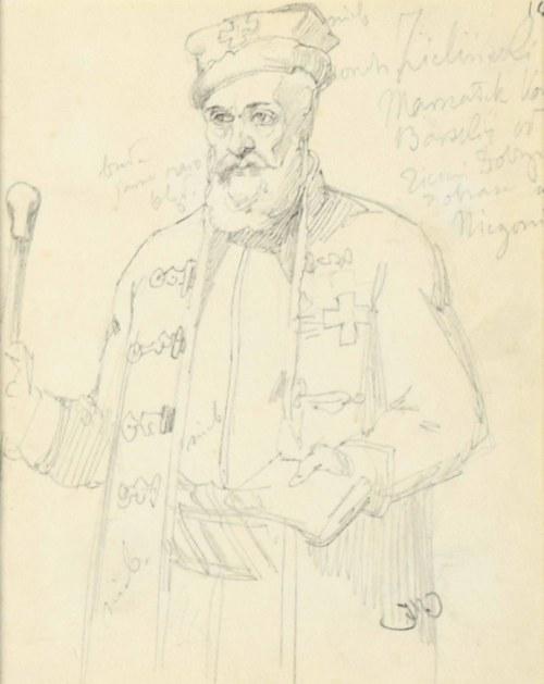 Jan Matejko (1838 Kraków - 1893 Kraków), Marszałek Zieliński - Konfederat barski