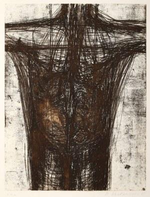 Magdalena Abakanowicz (1930 Falenty - 2017 Warszawa), Tors, z teki Katharsis, 1985
