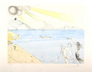 Salvador Dalí (1904 Figueras, Hiszpania – 1989 Figueras, Hiszpania), Z cyklu: Po 50 latach surrealizmu, 1974