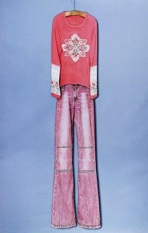 Jadwiga SAWICKA (ur. 1959), Zestaw młodzieżowy - z cyklu: Ubrania, 2004/2005
