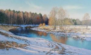 Wojciech PIEKARSKI (ur. 1980), Pejzaż zimowy, 2018
