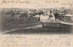 Biały Bór, Gruss aus Baldenburg, Totalansicht, wyd. Karl Dahlke, ok. 1906