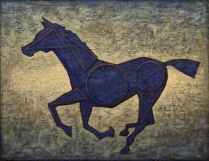 GRZEGORZ KLIMEK, THE BLUE HORSE, 2018