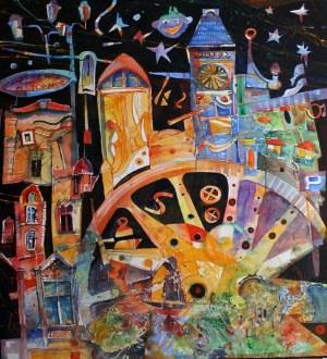 KRZYSZTOF LUDWIN, CAROUSEL IN KATOWICE (CITY FAIRY TALES SERIES)