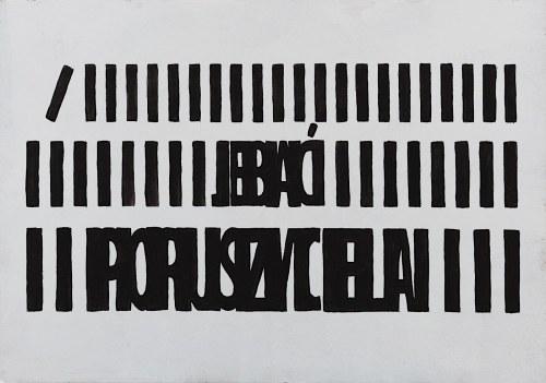 Mariusz Libel, Jebać poruszyciela, 2018