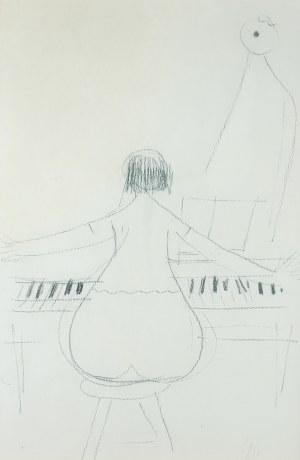 Zygmunt Menkes, Przy fortepianie