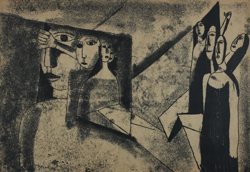Tadeusz Kantor, Bez tytułu, 1958