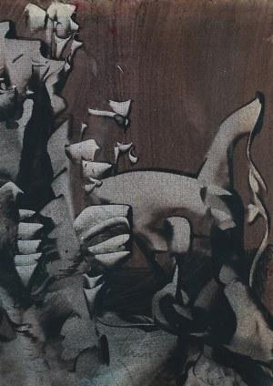 Alfred Lenica, Kompozycja abstrakcyjna II