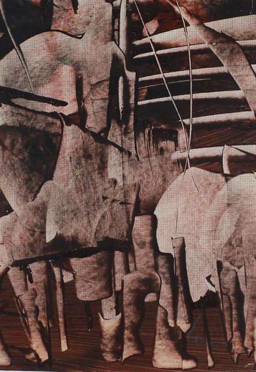 Alfred Lenica, Kompozycja abstrakcyjna I