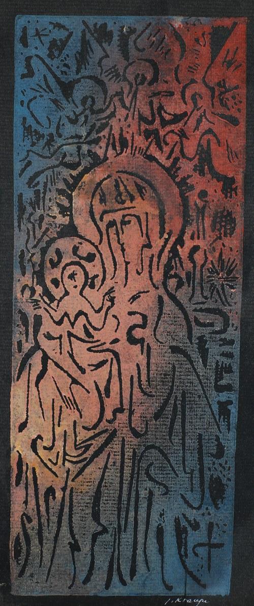 Janina Kraupe-Świderska, Madonna z dzieciątkiem