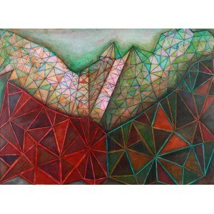 Gabriela Obremba, Kompozycja abstrakcyjna