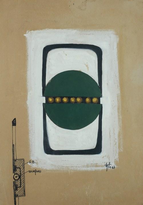 Tytus Dzieduszycki-Sas, Bez tytułu, 1967