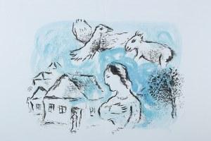 Marc Chagall (1887-1985)Wioska (Le Village), 1977 r.