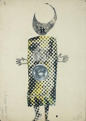 Józef Szajna (1922 Rzeszów - 2008 Warszawa)W. Shakespeare, Sen nocy letniej, projekt kostiumu, 1963 r.