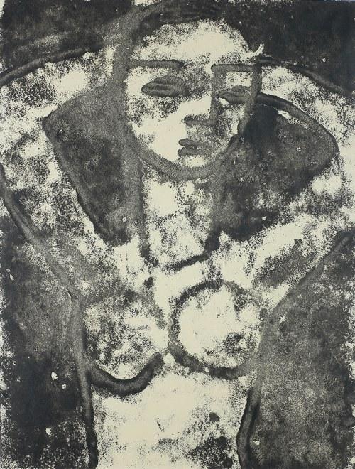 Józef Hałas (1927 Nowy Sącz - 2015 Wrocław)Bez tytułu, lata 50. XX w.