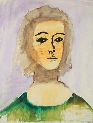 Gabriela Obremba (1927 Mysłowice - 1997 Warszawa)Portret