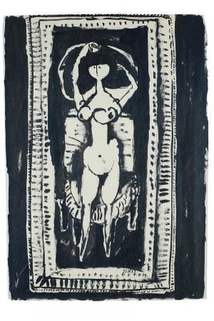Andrzej Kreütz-Majewski (1936 Brdów-2011 Warszawa)Akt przed lustrem, 1957 r.