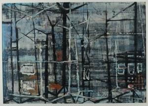 Wiesław Lange (1914-1988)Kompozycja abstrakcyjna