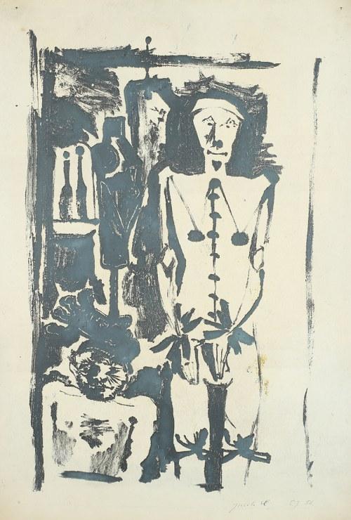 Jacek Sienicki (1928 Warszawa - 2000 tamże)Szczególny cyrk, 1958 r.