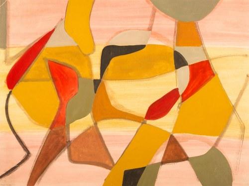 Adam Marczyński (1908-1985), Kompozycja geometryczna, 1963