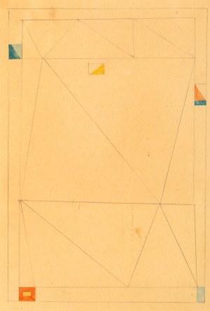 Jerzy Nowosielski (1923-2011), Abstrakcja, 1958