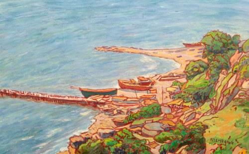 Pinchus Kremegne (1890-1981), Nadbrzeże, nd.