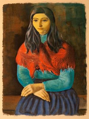 Mojżesz Kisling (1891-1953), Dziewczyna z Marsylii, nd.