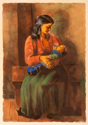 Mojżesz Kisling (1891-1953), Macierzyństwo, 1952