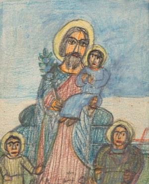 Nikifor Krynicki, Św. Józef z Dzieciątkiem Jezus