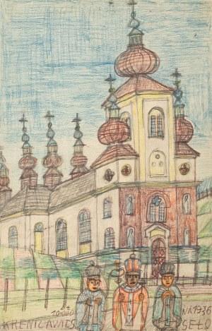 Nikifor Krynicki, Cerkiew Świętych Piotra i Pawła w Krynicy, 1936