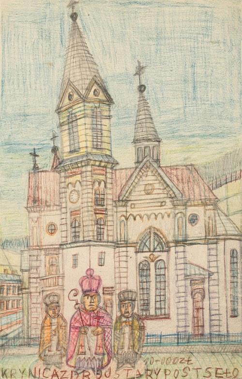 Nikifor Krynicki, Stary kościół w Krynicy