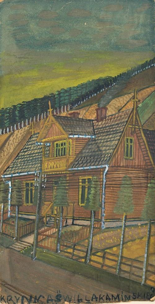Nikifor Krynicki, Dom w Krynicy