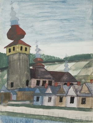 Nikifor Krynicki, Wiejska cerkiew