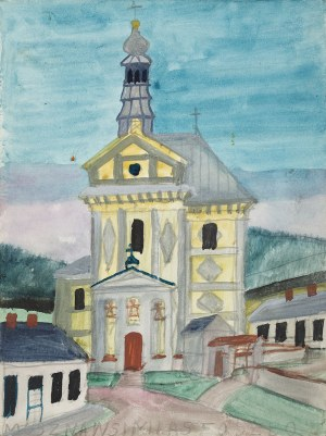 Nikifor Krynicki, Kościół w Muszynie