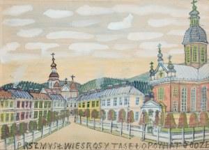 Nikifor Krynicki, Pejzaż miejski z Przemyśla