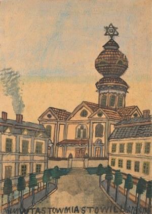 Nikifor Krynicki, Synagoga w Tarnowie
