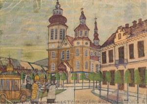 Nikifor Krynicki, Komunia. Nikifor jako biskup wysiada z samochodu