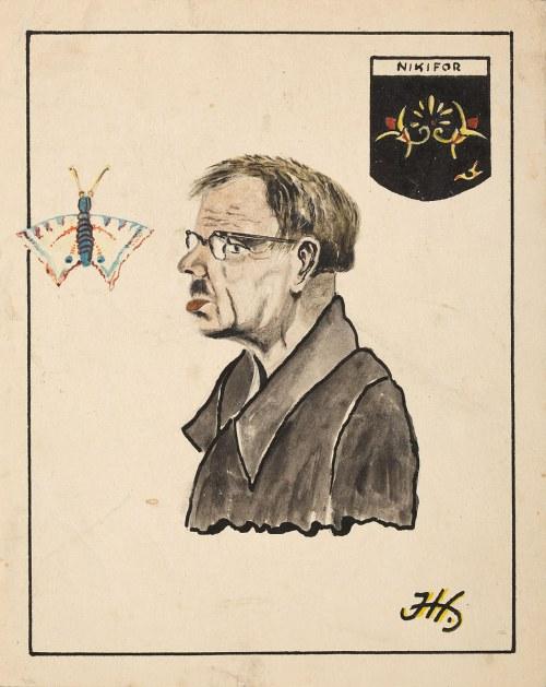 Jan Horeszko, Portret Nikifora, lata 60. XX w.
