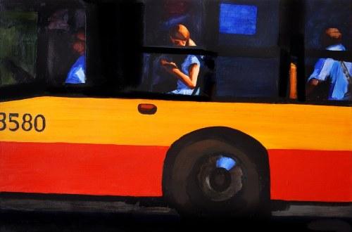 Marcin Kędzierski, Dziewczyna w autobusie, 2017 r.