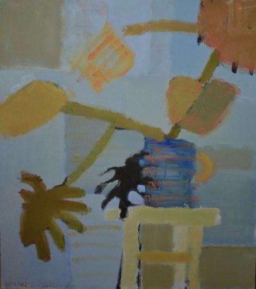 Łukasz Breitenbach, Monstera w niebieskiej donicy