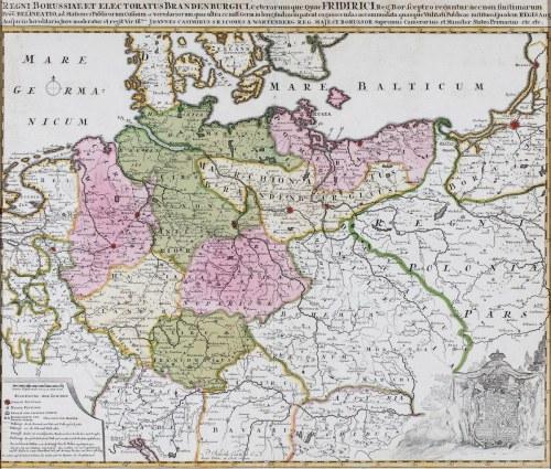 MAPA PRUS, Pieter Schenk, Amsterdam, 1704